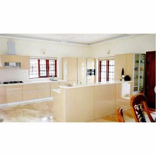 Bespoke Decor Plywood Designer Modular Kitchen, Kitchen ...