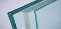 Saint Gobain Transparent Laminated Glass, Packaging Type: Bubble Wrapping