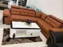 L Lrf Recron Corner Sofa, Warranty: 5 Years, Size: 15 Feet