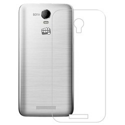 Mix Silicon Micromax Transparent Mobile Back Cover