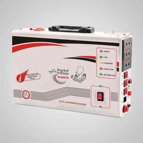 Single Phase Portable Home Ups Capacity 50w Rs 1250