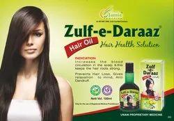 Herbal Jamia Remedies Zulf-e-Daraaz Hair Oil, Packaging Size: 100 ml, Hair Growth
