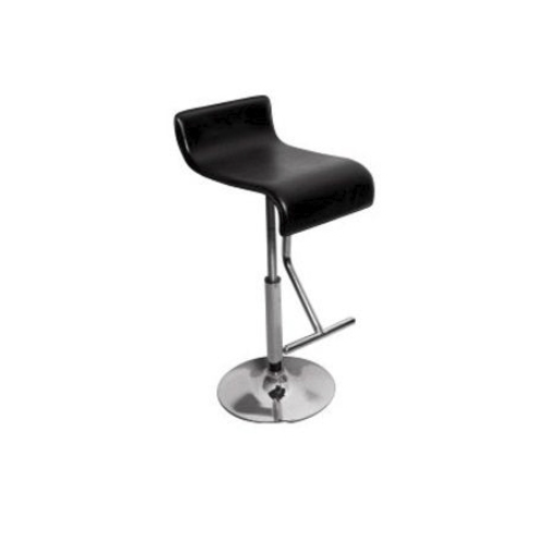 Metal Black Mono Stand Cafe Chair