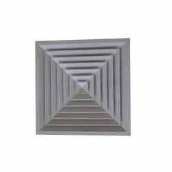 Aluminum Diffuser For Grid Ceiling 595x595