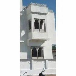 White Stone Jharokha