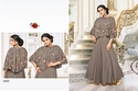 Round Neck Embroidered Mayra Kurti, Size: L