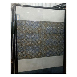 Glossy Ceramic Printed Bathroom Wall Tile, Thickness: 10-15 mm
