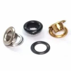 Golden, Black and Silver Metal and SS Garment Eyelet, For Garments, Packaging Type: Poly Packet
