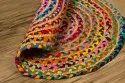 Round Jute Carpet Rug