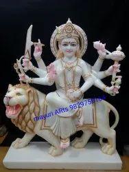 Marble Durga Maa Statue