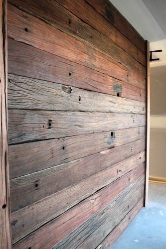 Reclaimed Wall Panel Wood