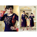 Trendy Georgette Embroidered Kurti