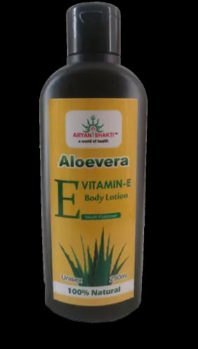 Aloe Vera Vitamin E Body Lotion 250 ml, Type Of Packing: Bottel