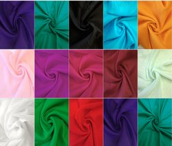 Plain Voile Cotton Fabric, Gsm: 50-100 Gsm, for Home Decor