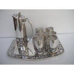 Vintage Silver Jug Set