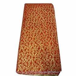 Silk Embroidered Pooja Jacquard Cloth