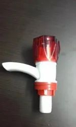 White and Red Rolex Brand PVC Bibcock for Bathroom Fitting