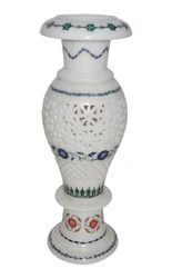 Marble Handmade Inlay Flower Vase