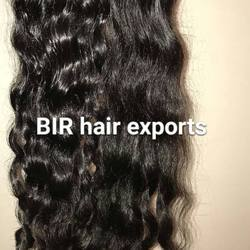 Temple Hair Natural Wavy Hair