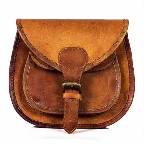 fb178440 Women Brown Leather Sling Bag, IMB208, Pure Leather: Yes, Rs 1400 ...