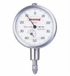 Peacock Standard Plunger Dial Gauge 0.01 / 10 mm