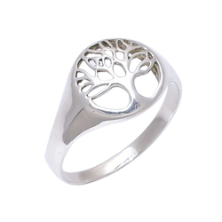 Tree Centric Designer 925 Sterling Silver Ring