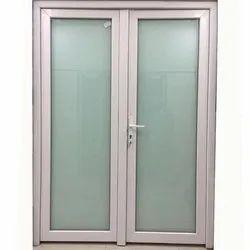 Sliding Lever Handle UPVC Glass Door, Door Location: Exterior