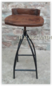 Hr Plastic High Bar Stool, Rotatable: Yes , Adjustable: Yes