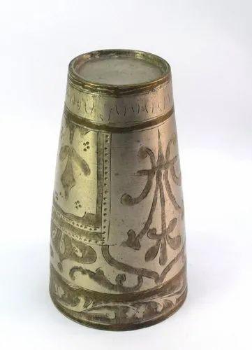 Vintage Kitchen Decorative Islamic Design Brass Lassi