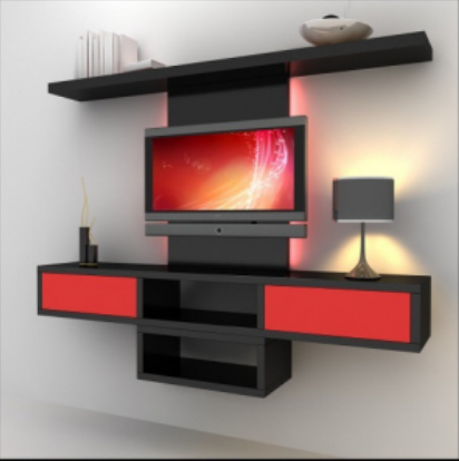 Tv Unit Tv Wall Unit 500x500 Architect Interior Design Town Planner From Hyderabad
