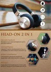 Head On 2 in 1 Headphone - Giftana
