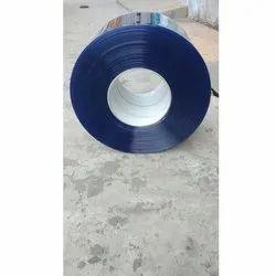 Transparent Blue PVC Roll