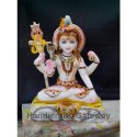 Hindu Handicrafts Gateway Marble Shiva Statue For Worship