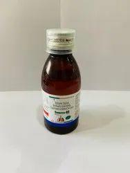 Terbutaline Sulphate 2.5mg Guaiphenesin 100mg Bromhexine Hcl 8mg Menthol 5mg/10ml Syrup