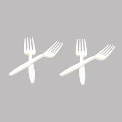 White Star Fork Spoon