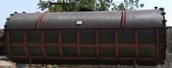Spiral HDPE Chemical Storage Tank
