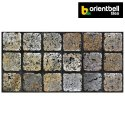 Orientbell Odm Bonito Grey Dk Matte Ceramic Wall Tiles