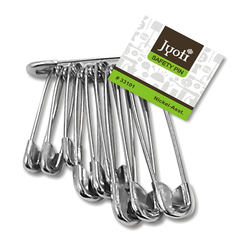 Silver Jyoti Safety Pin - Assorted, Packaging Type: Box