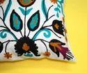 Cotton Suzani Embroidered Cushion Cover
