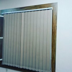 White Window Vertical Blinds, for Home