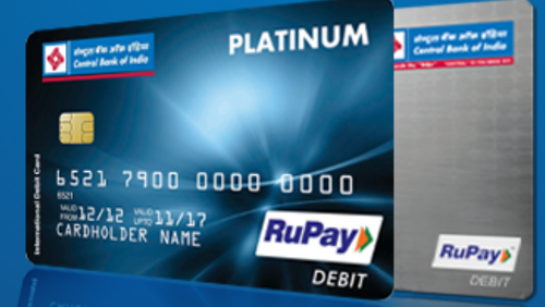 Platinum rupay debit card credit cards central bank of india platinum rupay debit card publicscrutiny Image collections