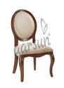 Home Antique Wooden Carved Dining Chair, Size/dimension: 21