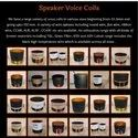 114,5 In Out Copper Voice Coil