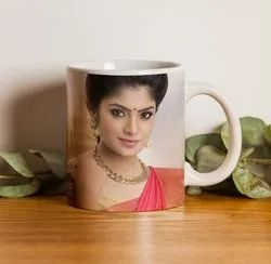 With Handle Printed Coffee Mug Printing, in Chennai, For Promotion