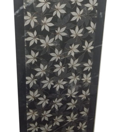 Ceramic Gloss Floral Design Wall Tile, Thickness: 5-10 Mm