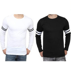 Cotton Casual T Shirt, Size: Large and XL