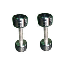 Pound Head Steel Dumbbell