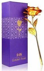Golden Plastic 24K Gold Plated Rose
