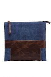 Handmade Rug Leather Clutch