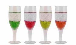 Shree Designer Gel Glasses Candle